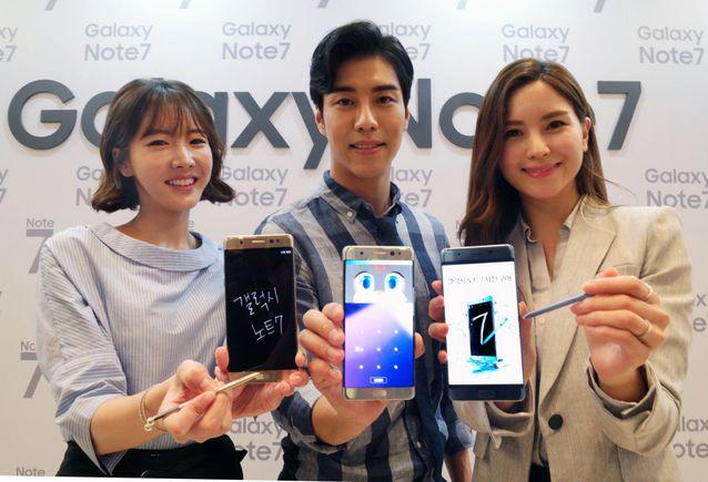 三星GalaxyNote7国行版26日发布:预售价5988元起