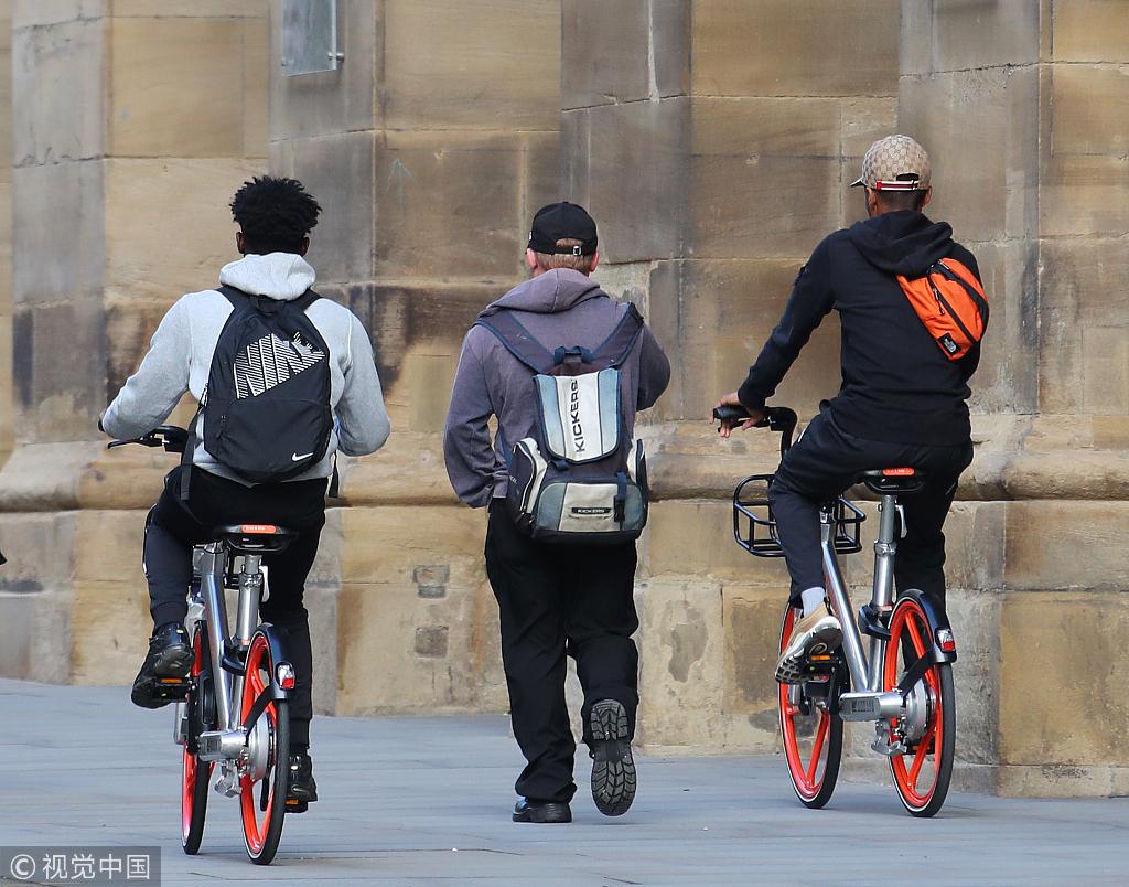 研究机构预测:2019年全球共享单车用户预计达3.06亿